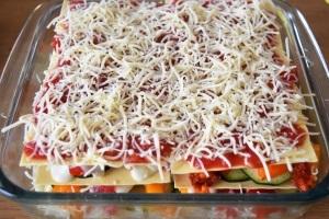lasagnes fromage râpé