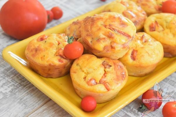 muffins et tomates