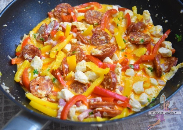 la piccata romana cuite en poêle-wok