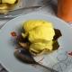 sorbet à la mangue en coupe