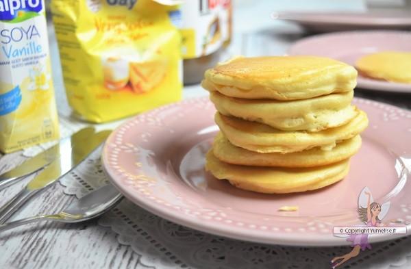 pancakes boisson soja