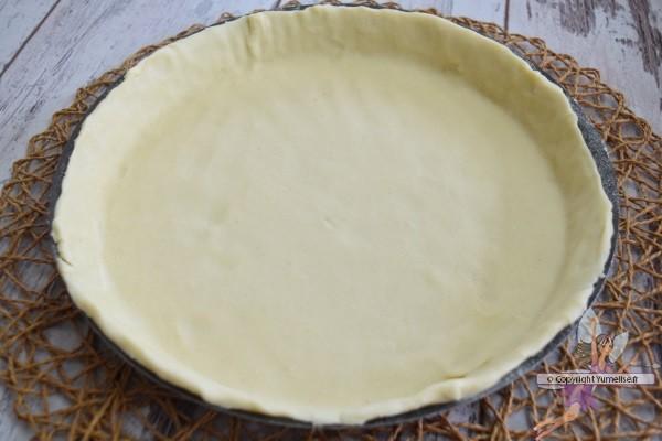 pâte brisée à la vanille