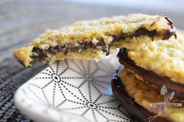 galettes suédoises et fourrage chocolat