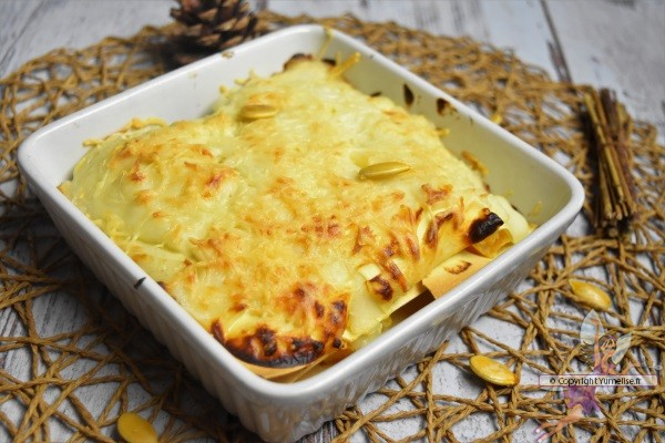 potrion et ricotta en lasagnes
