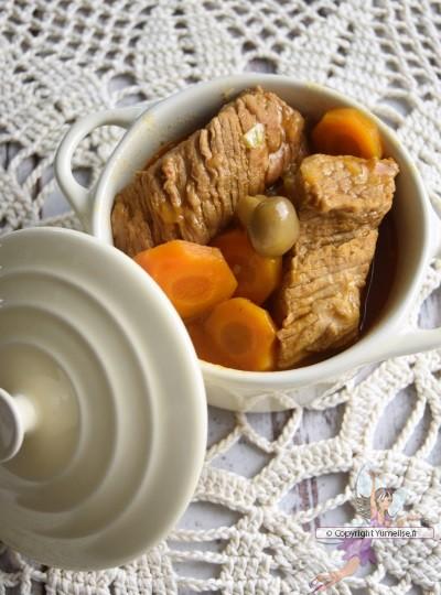 Veau Marengo - plat traditionnel français