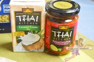 thaï kitchen coco, curry
