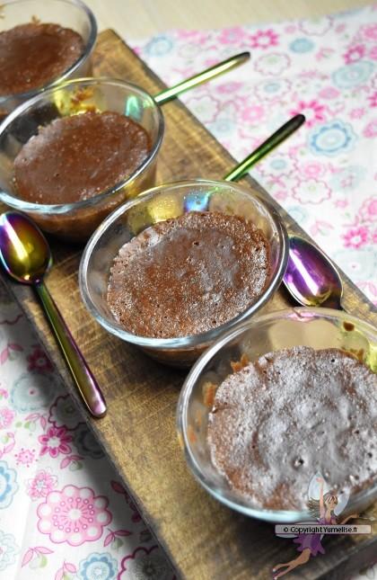 coulants au chocolat cuits à l'Omnicuiseur