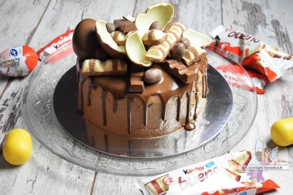 cake aux Kinder