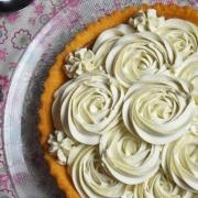 ganache montée sur tarte