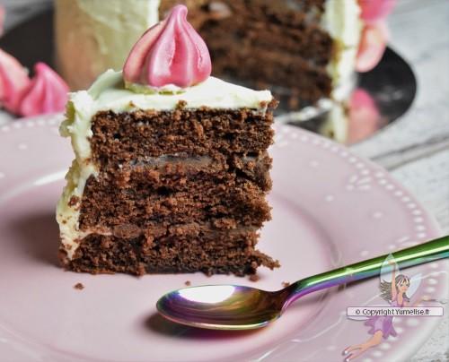 part de gâteau licorne