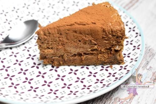 part gâteau mousse chocolat