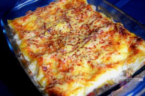 lasagnes, cuisson en omnicuiseur