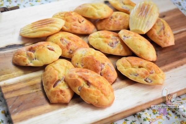 madeleines aux lardons