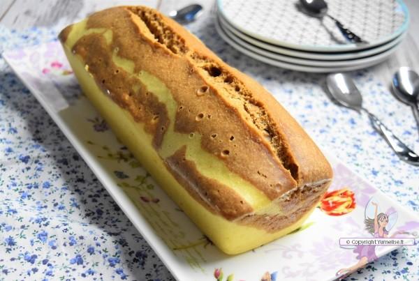 marbré au praliné et à la vanille