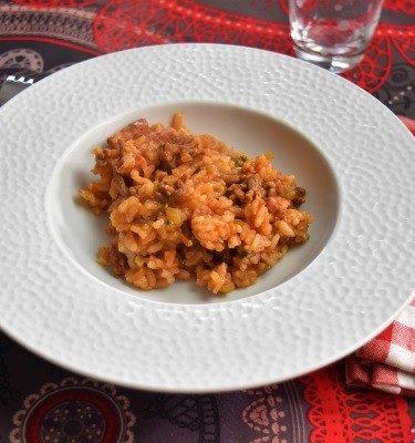 risotto cuit à l'omnicuiseur