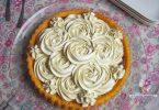 tarte à la ganache montée au chocolat blanc et vanille