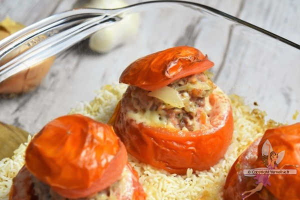 tomate farcie au fromage raclette