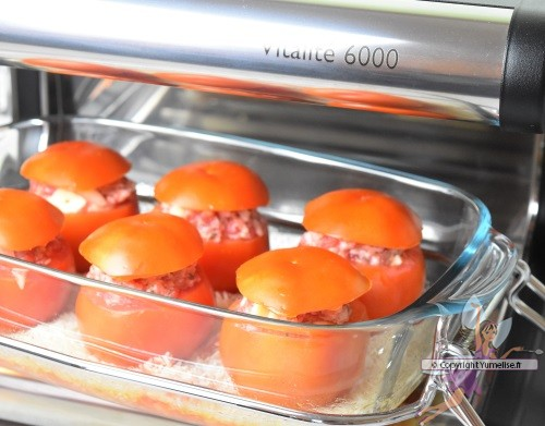 tomates farcies cuisson omnicuiseur