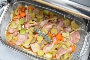 blanquette de veau en cuisson omnicuiseur