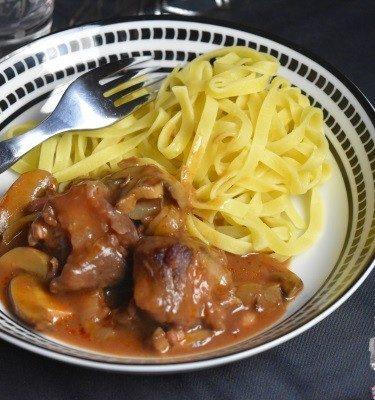 boeuf bourguignon, cuisson omnicuiseur