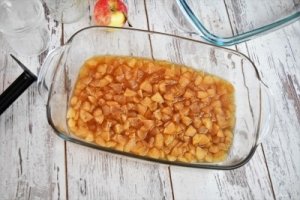 confiture de pommes cuite