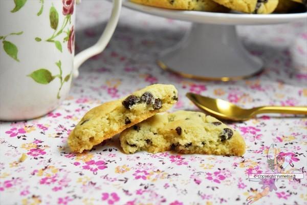 cookies moelleux et croustillant, sans oeuf