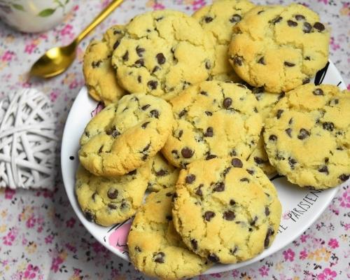 Cookies sans oeuf - biscuits américains