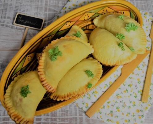 empanadas au thon cuits