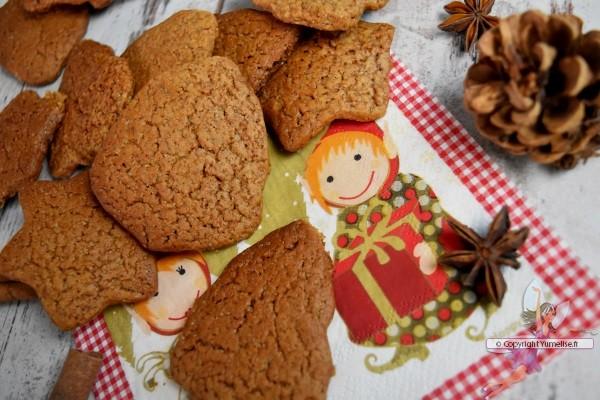 gâteaux de Noël aux épices et miel