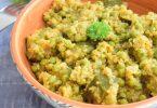 korma au quinoa et légumes verts