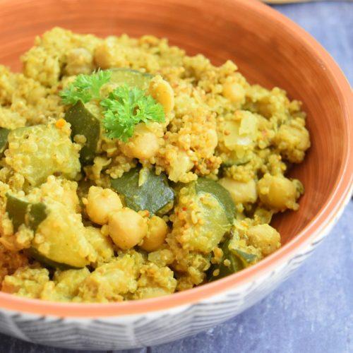 assiette de curry