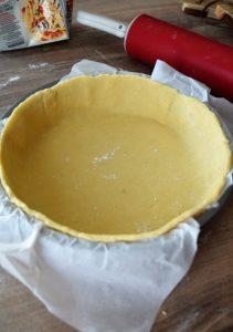 moule foncé de pâte