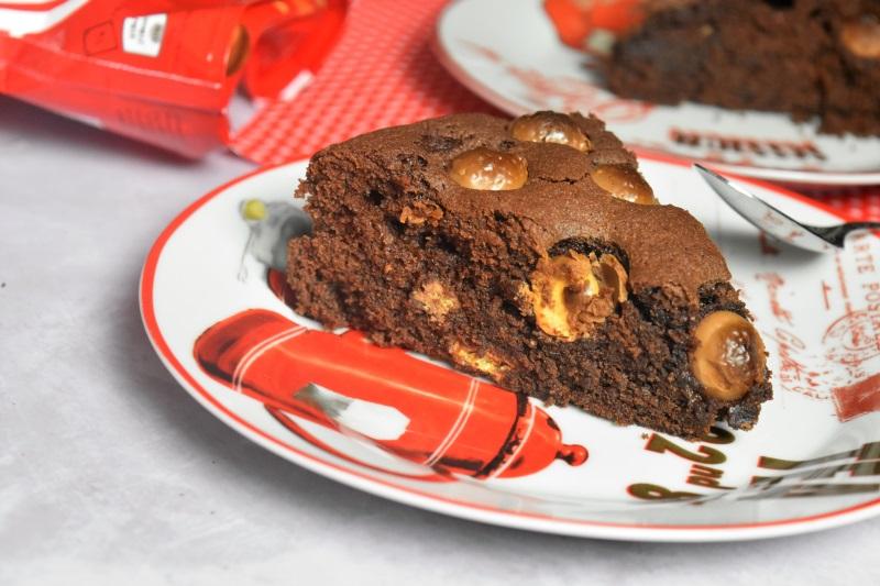 Gâteau aux boules Maltesers