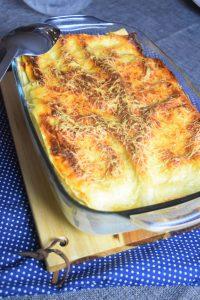 Lasagnes au thon et sauce tomate