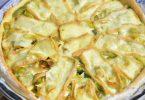 Tarte aux poireaux et maroilles du Nord