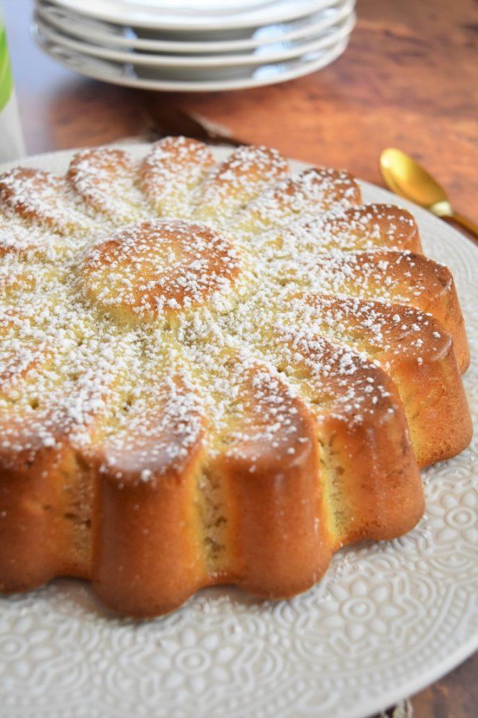 Gâteau au lait d'amande