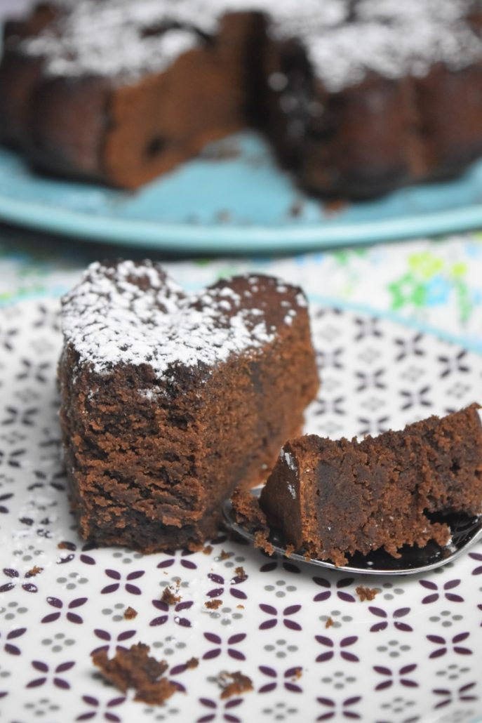 Gâteau moelleux au fromage blanc et chocolat