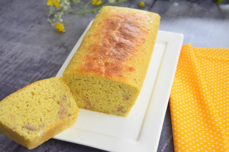 Cake au thon et moutarde