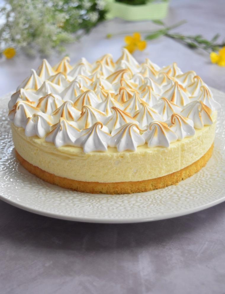 Gâteau nuage de citron meringué