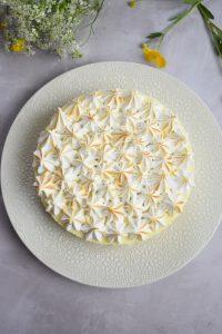 Gâteau nuage à la meringue italienne