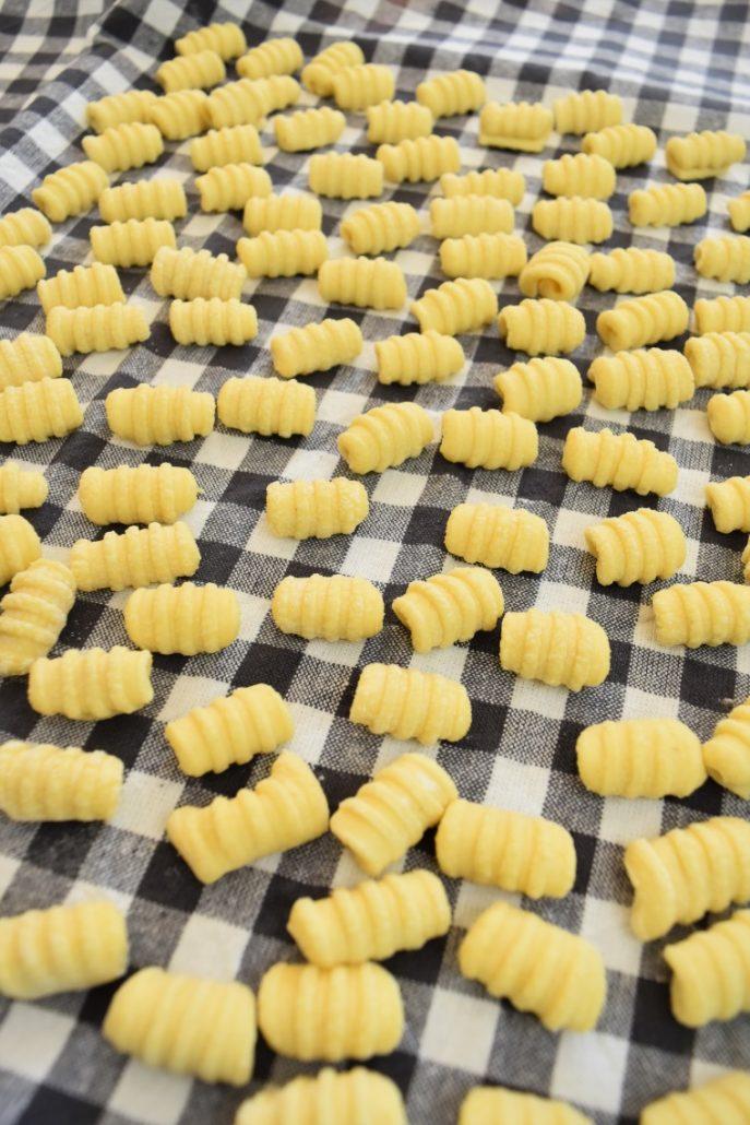 Gnocchetti, gnocchi à la semoule de blé dur
