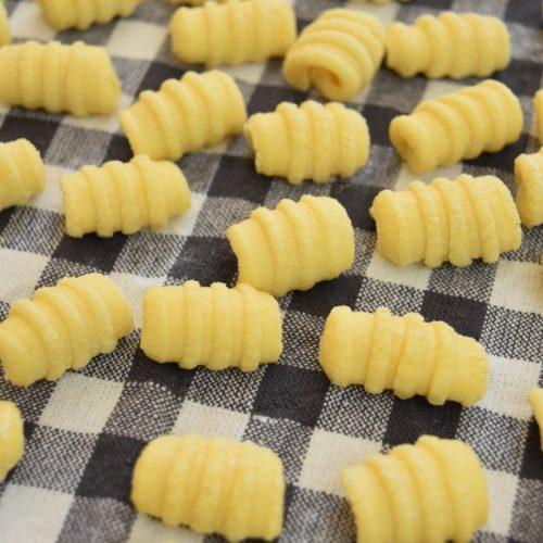 Gnocchetti, pâtes à la semoule de blé dur