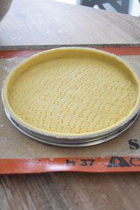 Pâte sucrée pour tarte aux fraises