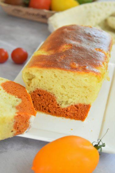 Cake salé marbré