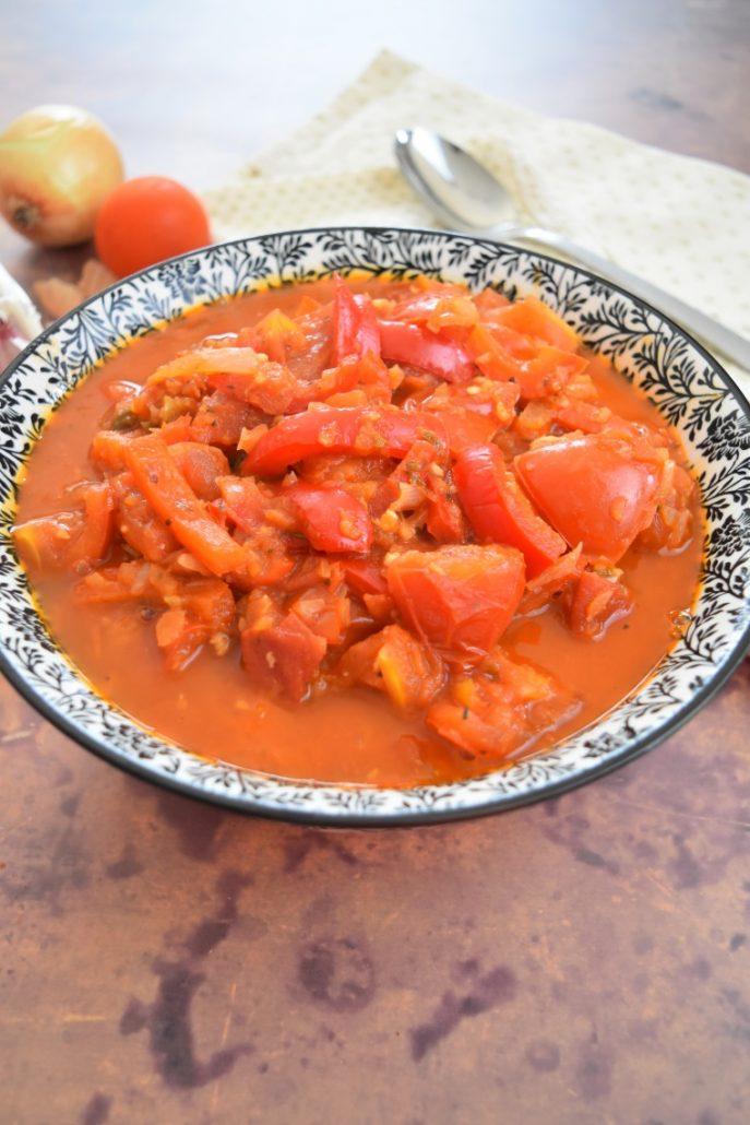 Poivrons, tomates