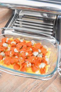 Pâtes aux saucisses et sauce tomate