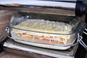 Cuisson des lasagnes au poulet