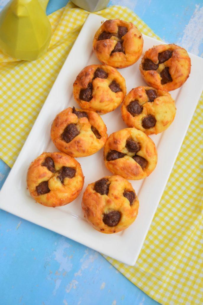 Muffins merguez