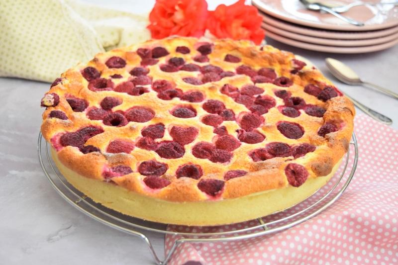 Tarte à La Framboise Et à La Ricotta Recette De Dessert Léger