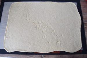 Grand rectangle de pâte
